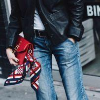 Bandana als Bag-Accessoire