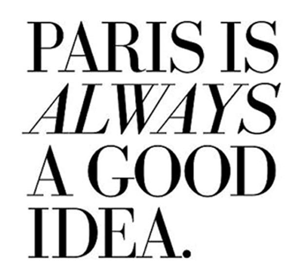 Paris booked - nous sommes Paris