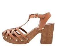 Topshop VENICE High Heel Clog Sandalette
