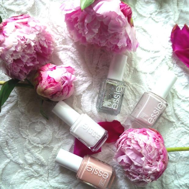 3 Manicure Ideas For Wedding Season - Nail Design. Essie. Hochzeitssaison. Make-up. Beauty Nails. Weiß, Nudes und Glitzer (1).jpg