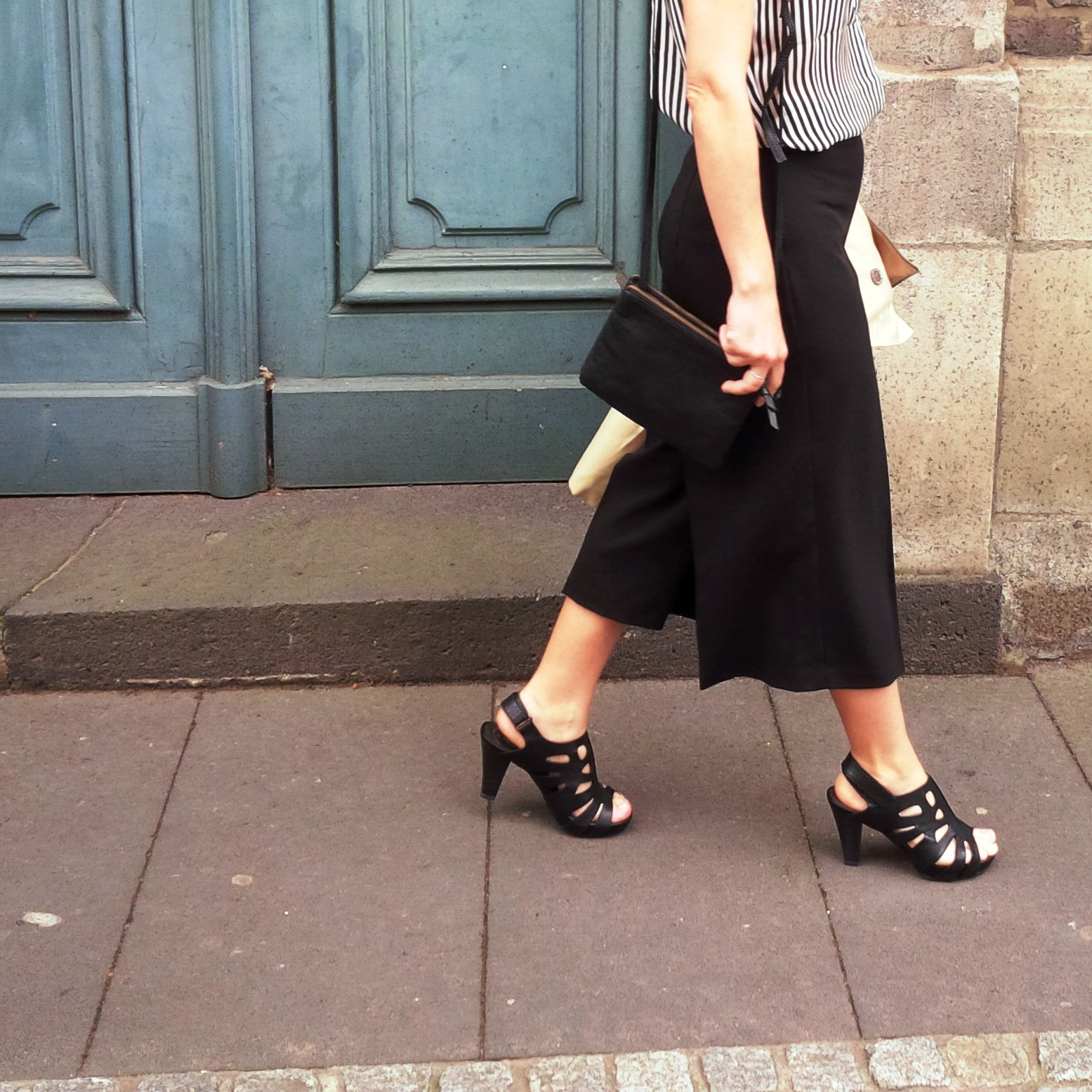 Black and White Culotte - And Some Tipps That Will Renew Your Love For Culottes  (5).jpg