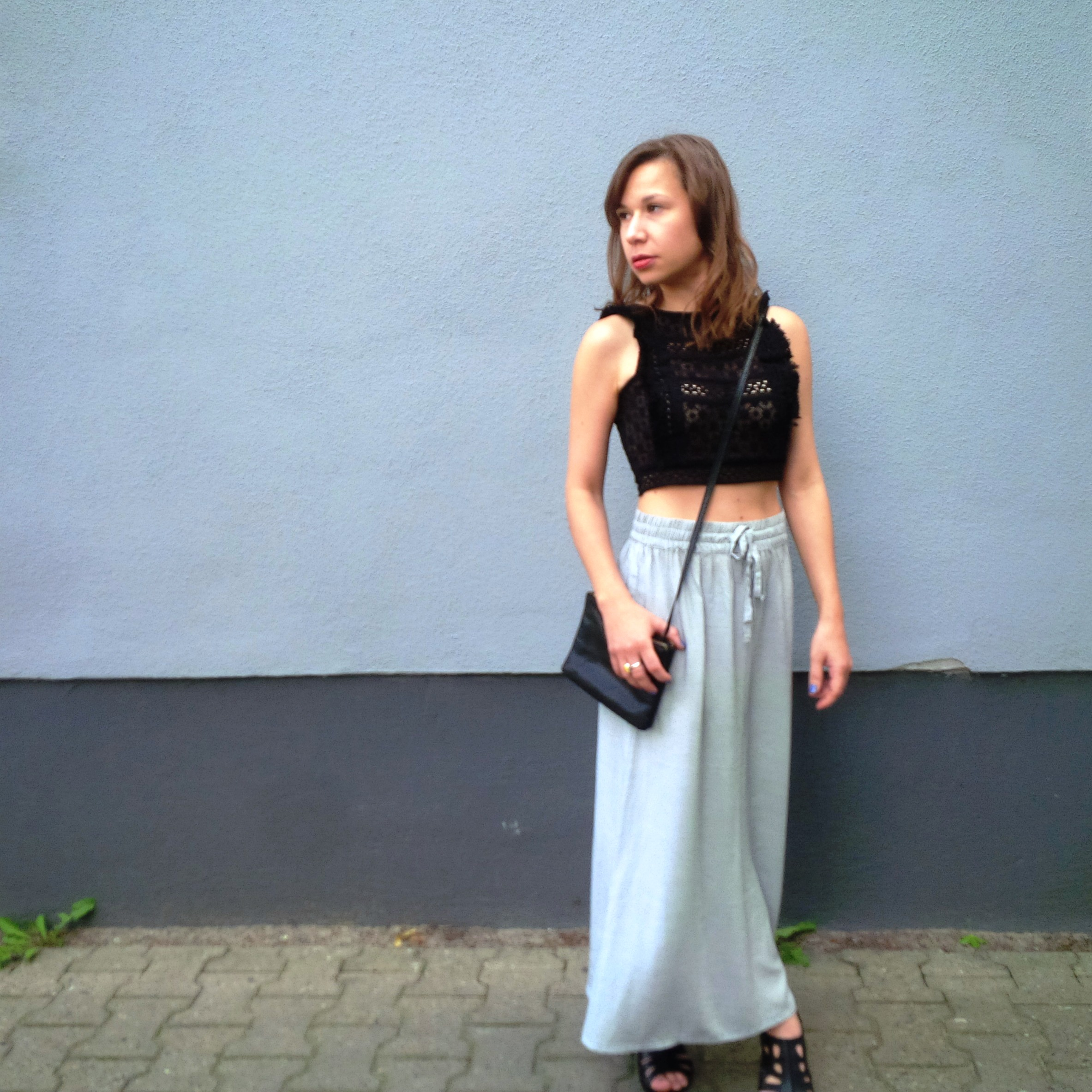How to stay cool. New Look. Mercedes Benz Fashion Week Berlin 2016. Ethical Fashion Show. Lavera. cropped Top Maxiskirt (10)