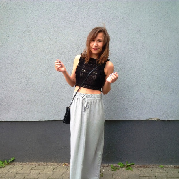 How to stay cool. New Look. Mercedes Benz Fashion Week Berlin 2016. Ethical Fashion Show. Lavera. cropped Top Maxiskirt (19)