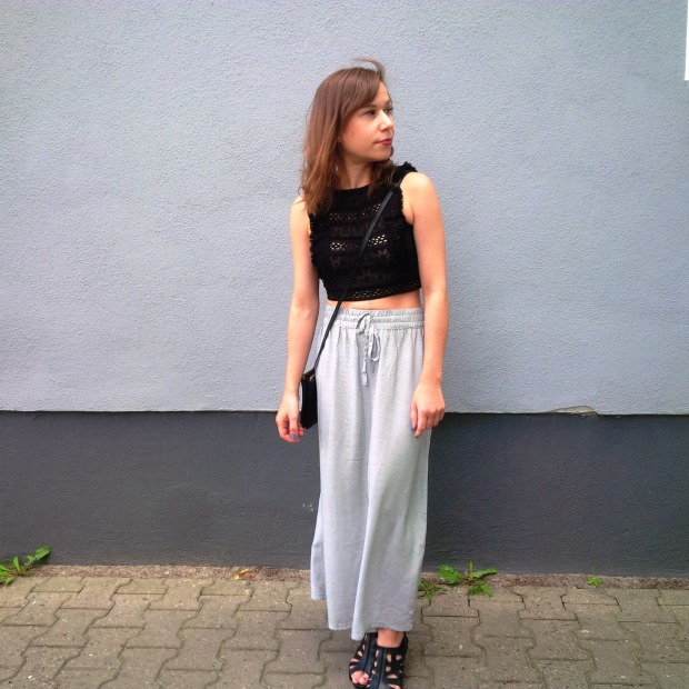 How to stay cool. New Look. Mercedes Benz Fashion Week Berlin 2016. Ethical Fashion Show. Lavera. cropped Top Maxiskirt (25)