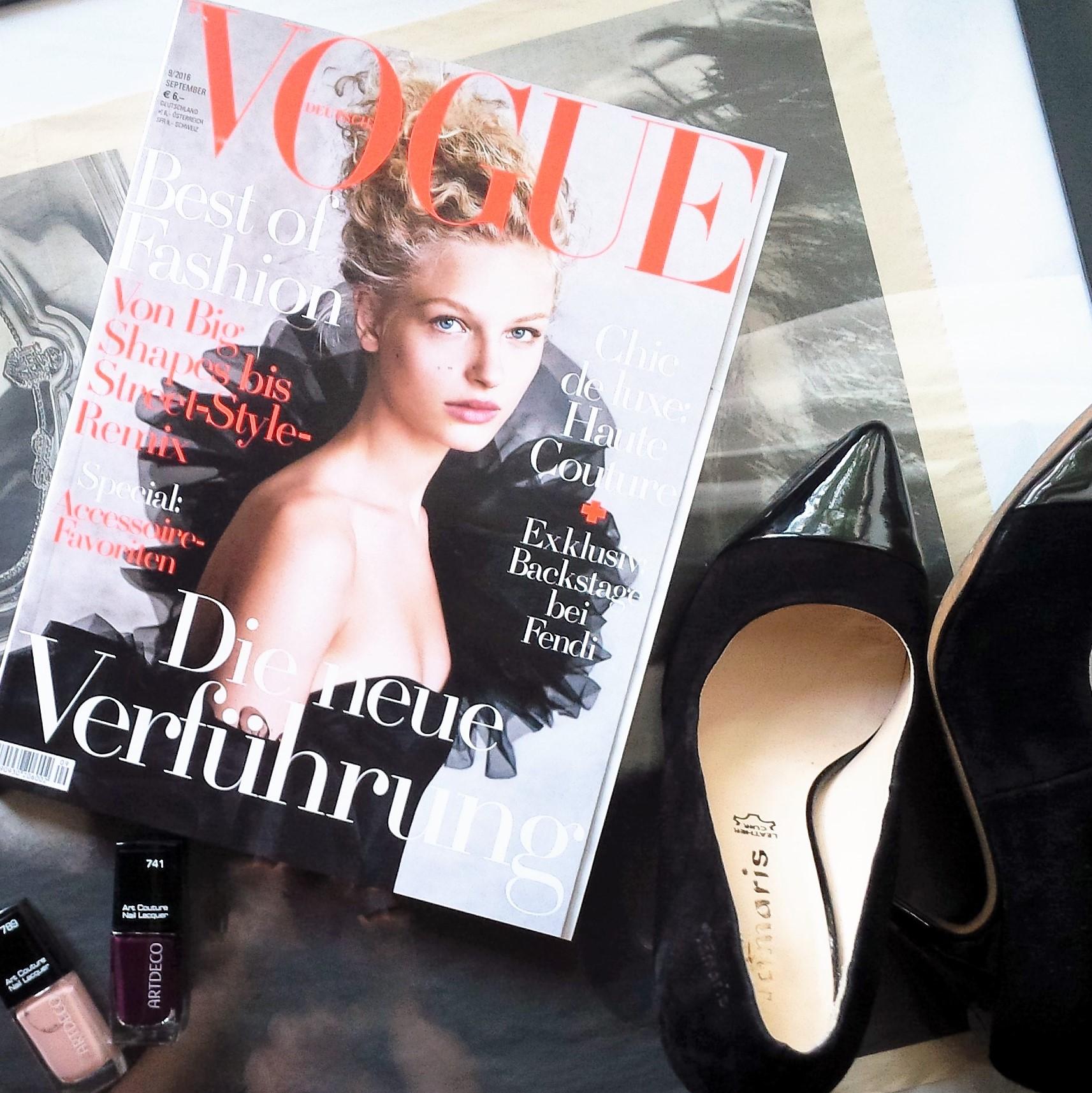 Liebe Woche #SeptemberIssue Liebe was ist Wochenfavoriten weekly favorites. Inspiration. Sonntag. Vogue, Artdeco, Tamaris - Herbsttrends (3)