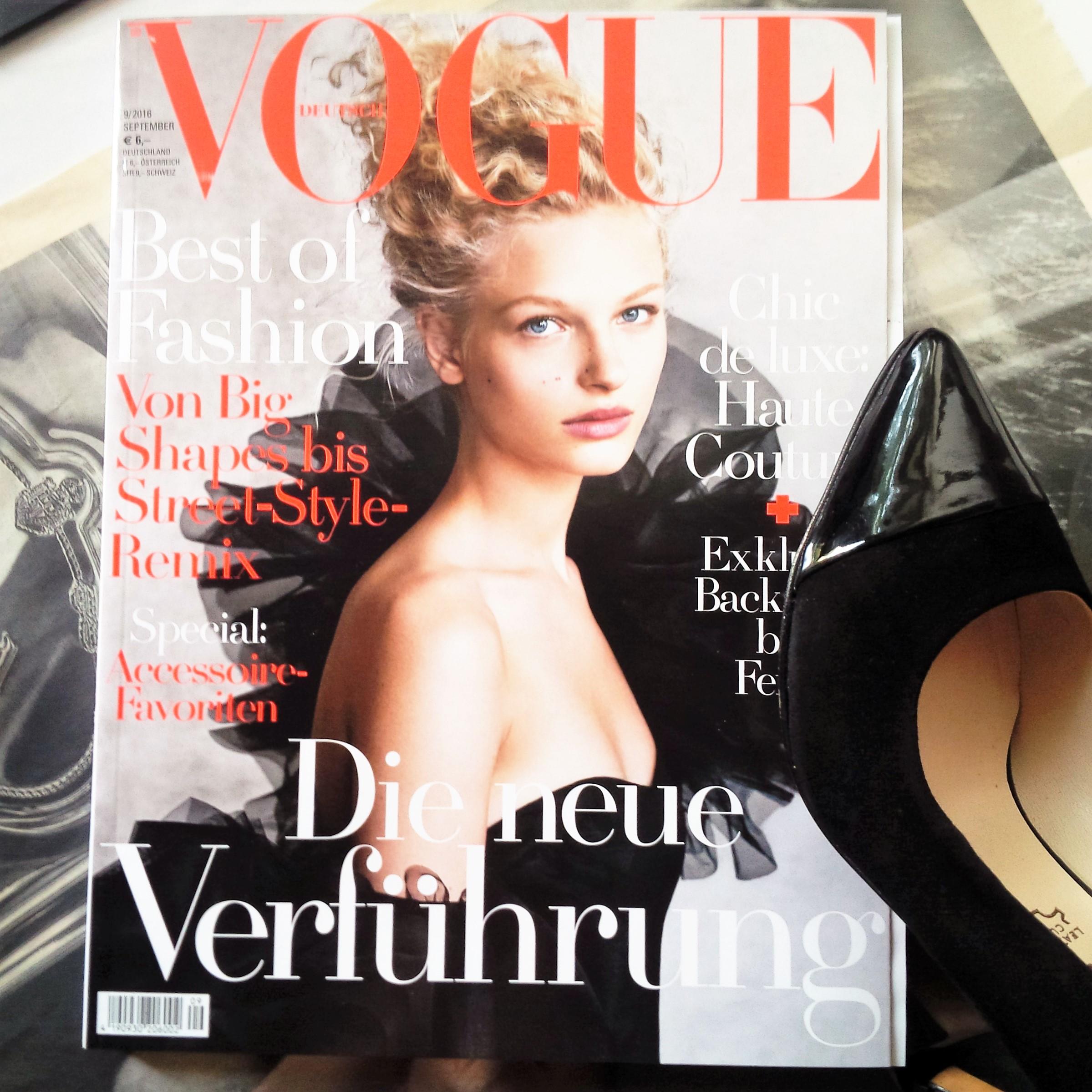 Liebe Woche #SeptemberIssue Liebe was ist Wochenfavoriten weekly favorites. Inspiration. Sonntag. Vogue, Artdeco, Tamaris - Herbsttrends (5)