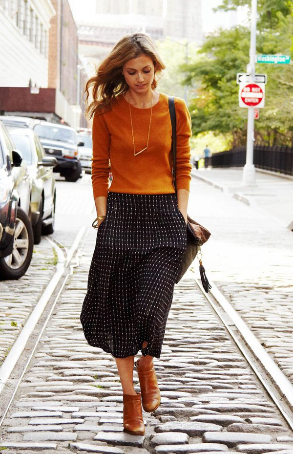 September Issue Meets Prêt-à-porter 8 Wear- and Affordable Fall Fashion Trends. Liebe was ist. Pumpkin Spice - Rust Orange.jpg