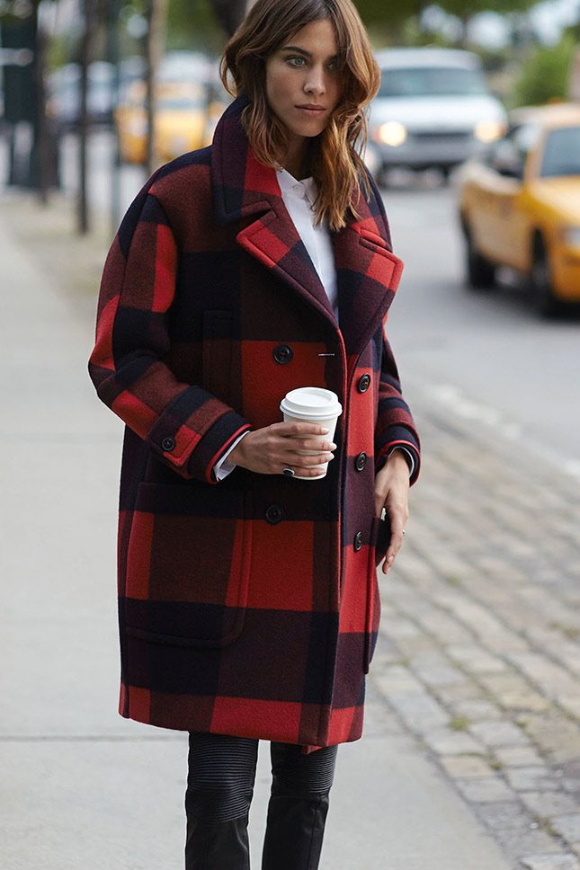 September Issue Meets Prêt-à-porter 8 Wear- and Affordable Fall Fashion Trends. Liebe was ist. Tartan Coat.jpg