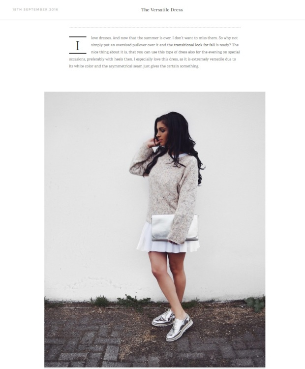 the-weekender-looking-forward-to-fall-outfit-inspiration-via-confashiontime-herbstlook-zara-white-dress-metallic-shoes-2